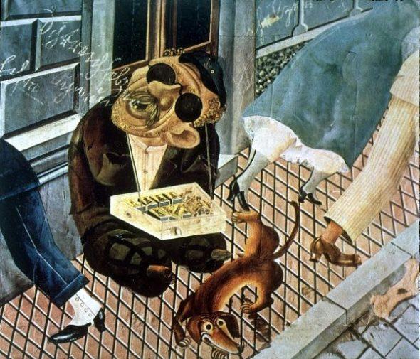 Obra de Otto Dix.