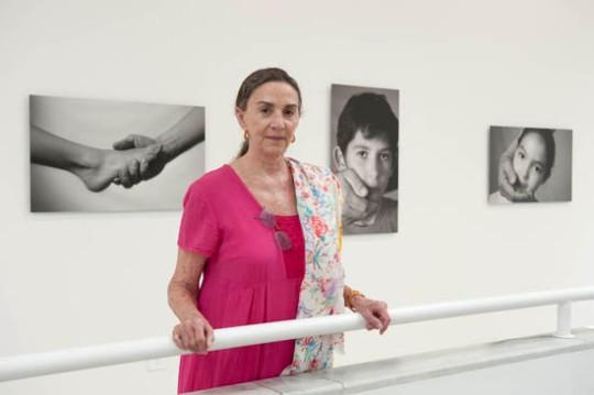 La artista Teresa Serrano.